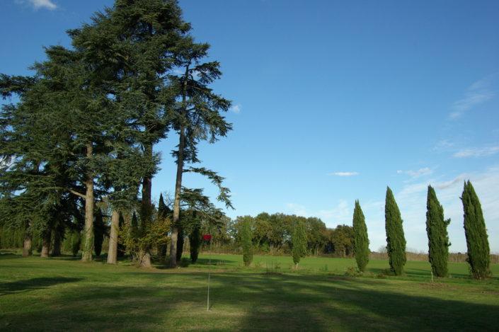 practice golf lot et garonne grand gite de charme 10-14 personnes au Château de Poudenas