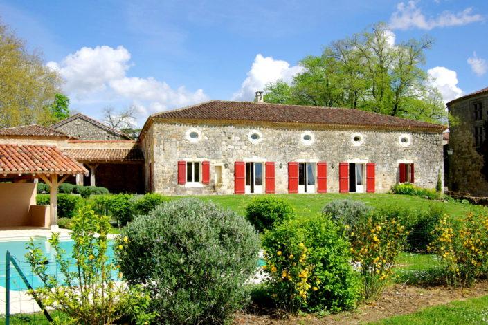 Maison de campagne avec piscine - 7 chambres - Poudenas - Albret - Lot et Garonne - Gascony Manor House